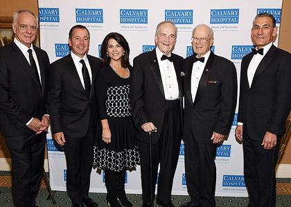 Frank A. Calamari and honorees