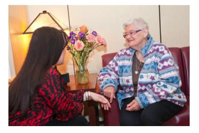 ómo Calvary apoya a los cuidadores