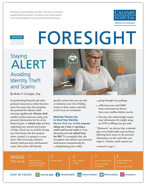 Foresight Winter 2020