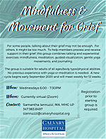 Mindfulness & Movement for Grief