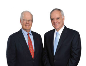 Thomas J. Fahey, Jr., MD (left) and Frank A. Calamari (right)