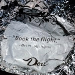 Dove wrapper