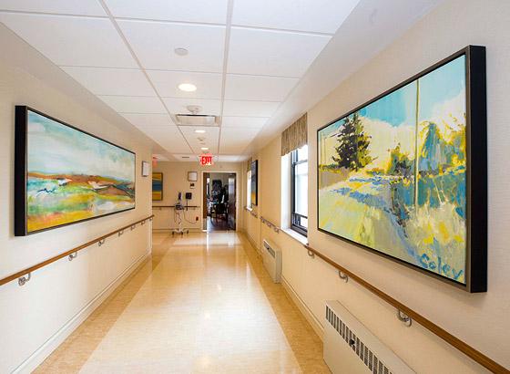 Dawn Greene Hospice Hallway