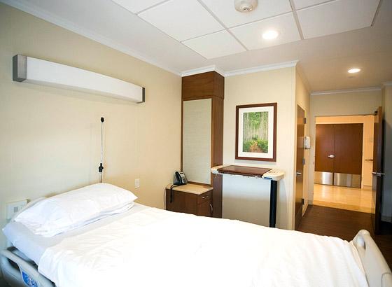 Dawn Greene Hospice patient room