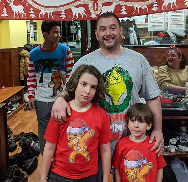 Sal's son and grandsons